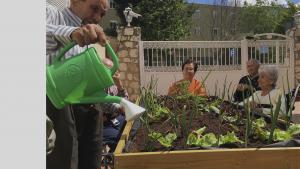 Formación sobre cultivo orgánico para residencias
