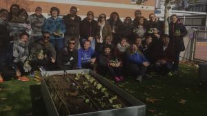 Formación en colegios sobre cultivo ecológico