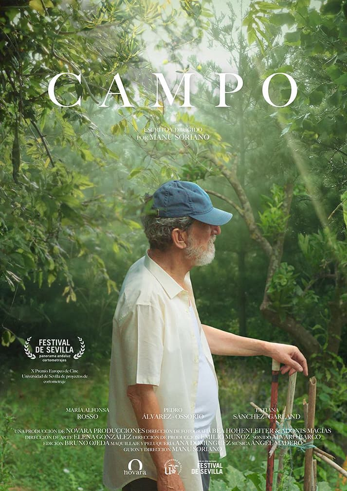 Campo, un cortometraje que trata sobre huertos