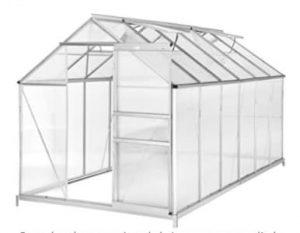 Invernadero de policarbonato para huertos