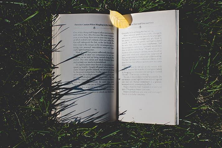 Libros sobre huerto, naturaleza y alimentación
