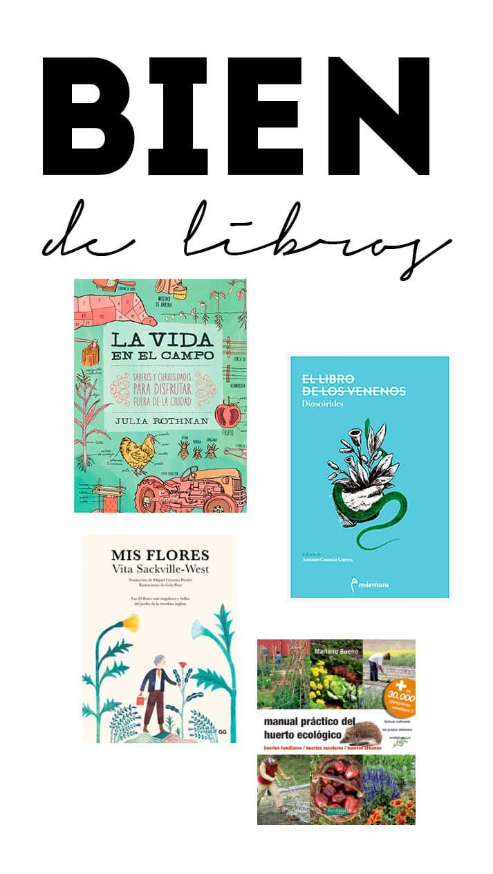 Día del Libro: huertos, plantas, flores y venenos